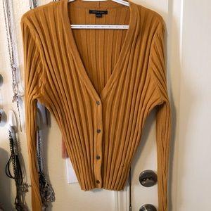 American Eagle 🦅// Mustard cardigan // XL // NWOT